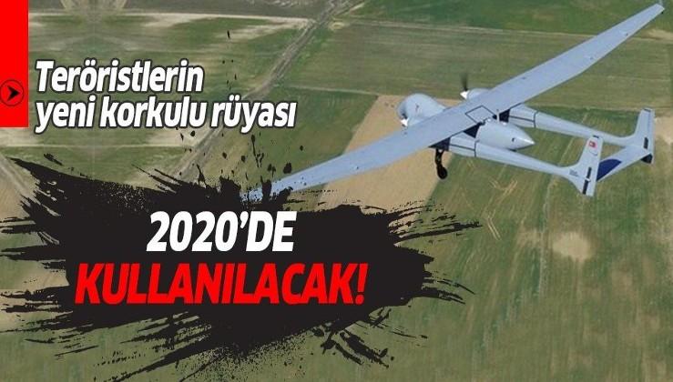 Yeni yılda teröristlerin korkulu rüyası Aksungur olacak!