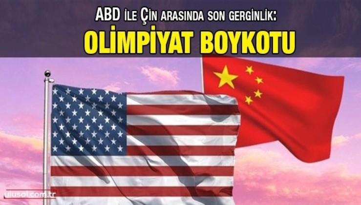 ABD ile Çin arasında son gerginlik: Olimpiyat boykotu
