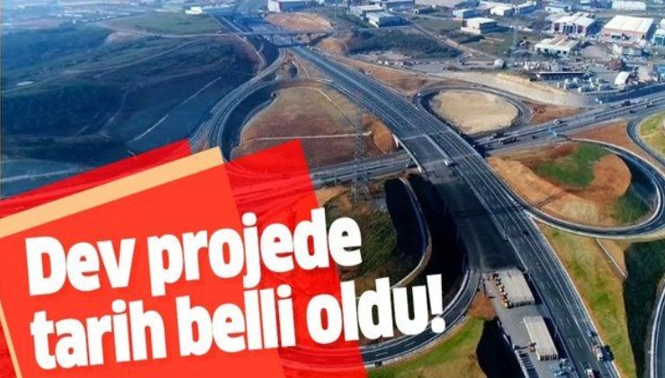 Dev proje 21 Aralık'ta tamamlanacak
