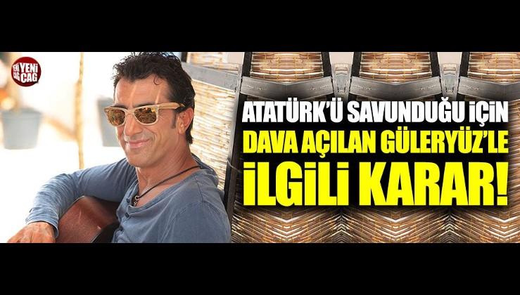 Erhan Güleryüz beraat etti
