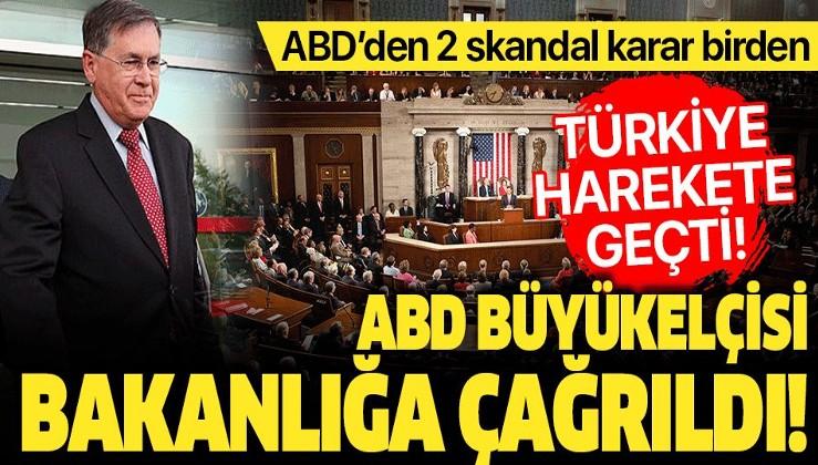 Son dakika: ABD Ankara Büyükelçisi Satterfield Dışişleri Bakanlığına çağrıldı.
