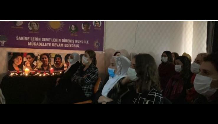 HDP PKK terör örgütü kurucuları için anma töreni düzenledi, resmi sayfasından yayınladı