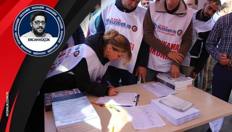 İBB işçileri imza kampanyası başlattı