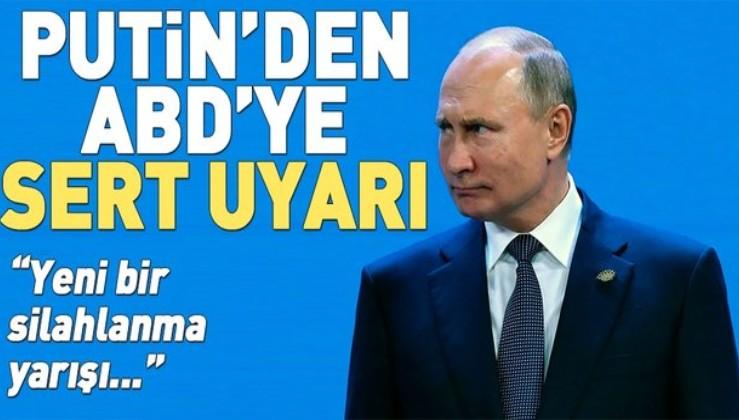 """Putin'den ABD'ye """"Orta Menzilli Nükleer Kuvvetler Antlaşması"""" uyarısı."""