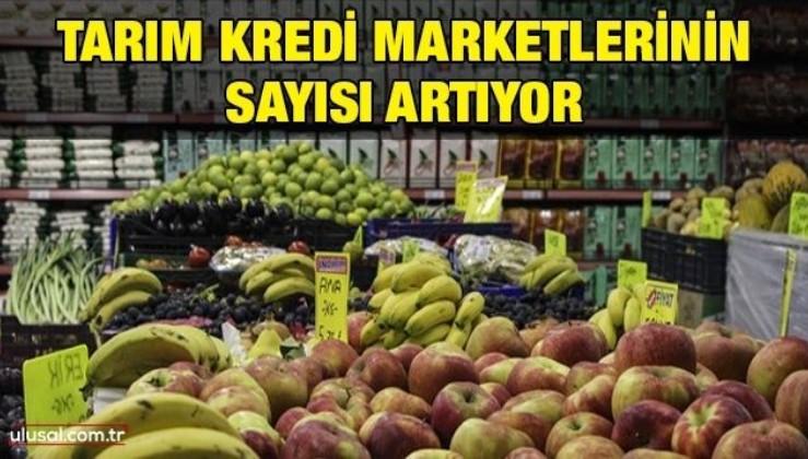 Tarım kredi marketlerinin sayısı artıyor