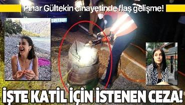 Son dakika: Pınar Gültekin cinayetinde flaş gelişme! Katil Cemal Metin Avcı için istenen ceza belli oldu!