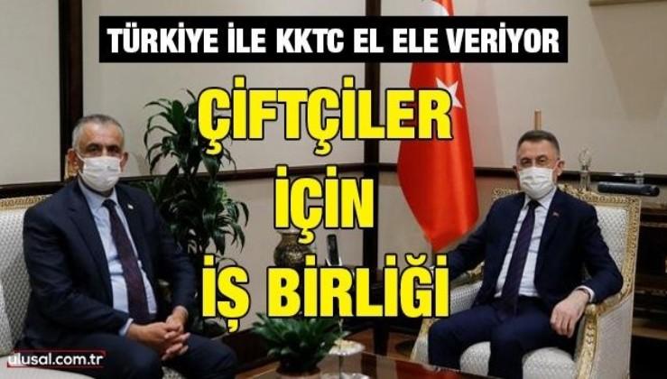 Türkiye ile KKTC el ele veriyor: Çiftçiler için iş birliği