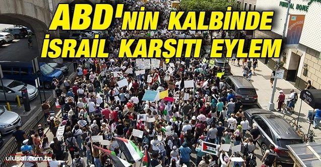ABD'de İsrail'e tepki yürüyüşü