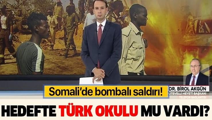 Son dakika: Somali'de Türkiye Maarif Vakfı Okulu'na yakın bölgede patlama! Hedefte Türk okulu mu vardı?