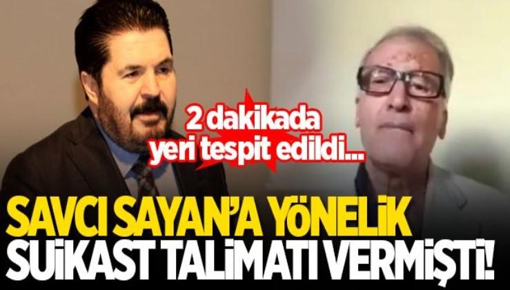 Ağrı Belediye Başkanı Savcı Sayan için suikast çağrısı yapan şüpheli İsviçre'de yaşayan HDP'li çıktı