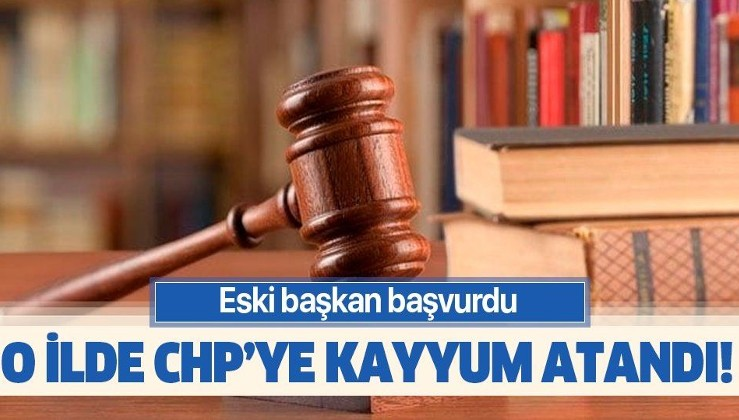 CHP Eskişehir il yönetimine kayyum atandı!.
