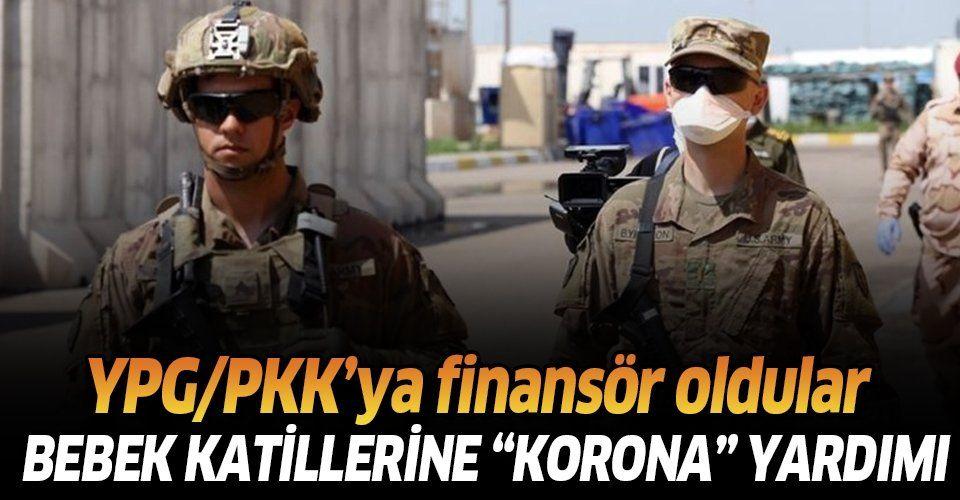 """Son dakika: ABD'den terör örgütü YPG/PKK'ya """"koronavirüs"""" yardımı."""
