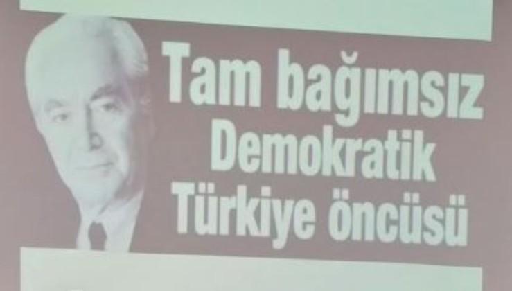 """ABD emperyalizminin belalısı, """"Ulusal Petrol"""" davasının, Tam Bağımsız Türkiye'nin savunucusu Muammer Aksoy'a saygıyla…"""