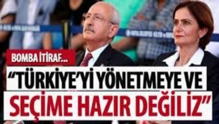 Canan Kaftancıoğlu'ndan itiraf gibi açıklama: Türkiye'yi yönetmeye ve seçime hazır değiliz