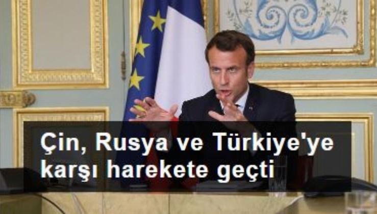 Pekin, Moskova ve Ankara'ya karşı Macron'dan Afrika girişimi