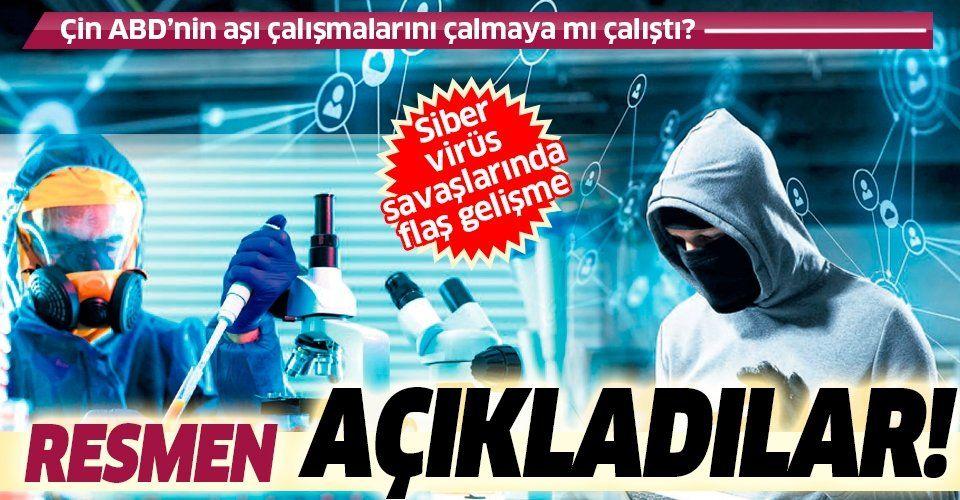 Son dakika: Çin'den resmi açıklama geldi: ABD'nin Kovid-19 aşı çalışmalarını çalmaya mı çalıştılar?