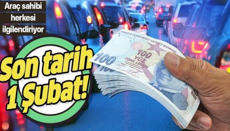 Motorlu taşıtlar vergisinde (MTV) ödeme dönemi başladı! İşte geçmiş borçlar için son yapılandırma tarihi