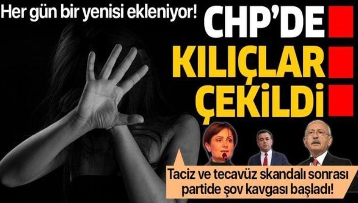 CHP'de bir taciz skandalı daha! Tecavüz skandallarının ardından kılıçlar çekildi