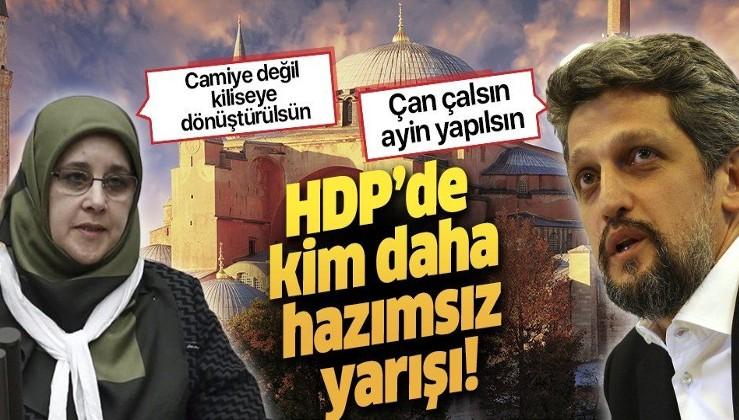 HDP'nin Ayasofya hazımsızlığı sürüyor! Garo Paylan: Ayasofya'da çan çalsın ayin yapılsın!