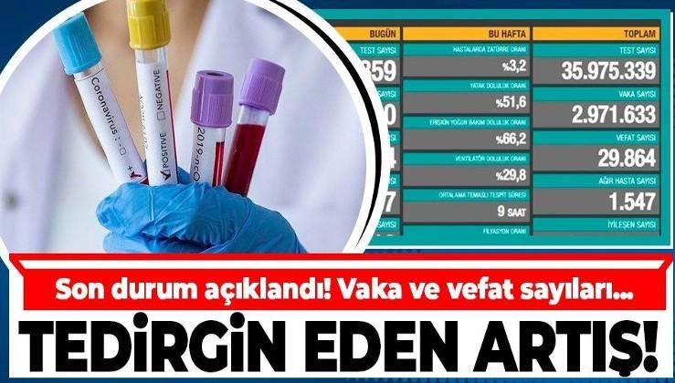 Son dakika: Sağlık Bakanlığı 19 Mart koronavirüs vaka ve vefat tablosunu paylaştı | Kovid-19 sayıları