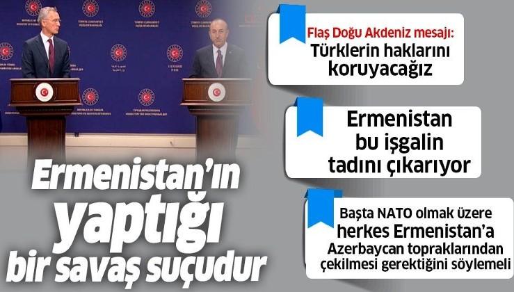Son dakika: Dışişleri Bakanı Mevlüt Çavuşoğlu: Ermenistan'ın yaptığı savaş suçudur