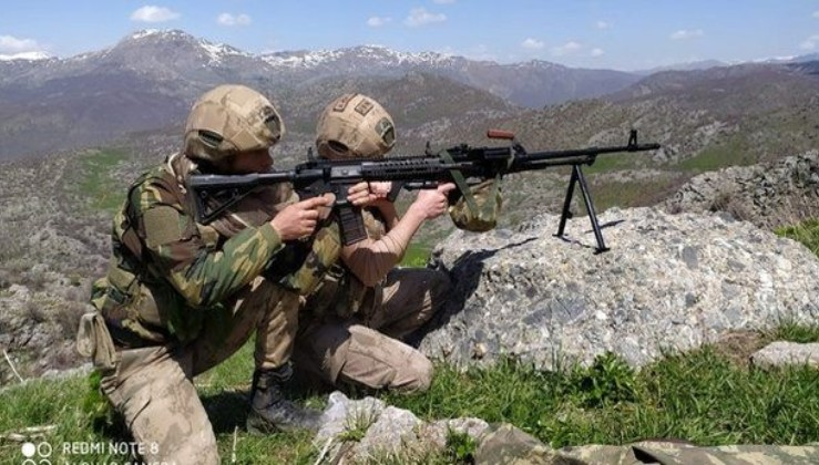 Son dakika: Siirt'te terör örgütü PKK'ya yönelik operasyon