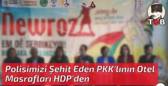Polisimizi Şehit Eden PKK'lının Otel Masrafları HDP'den