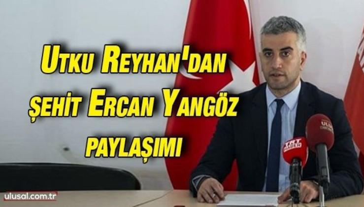 Utku Reyhan: ''Kimi mafyadan maaş alır kimi de vatan güvenliği için mafyanın karşısına dikilir!''