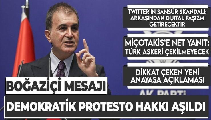 AK Parti Sözcüsü Ömer Çelik: Atatürk ortak değerimizdir, CHP Atatürk'ten uzaklaştıği için...