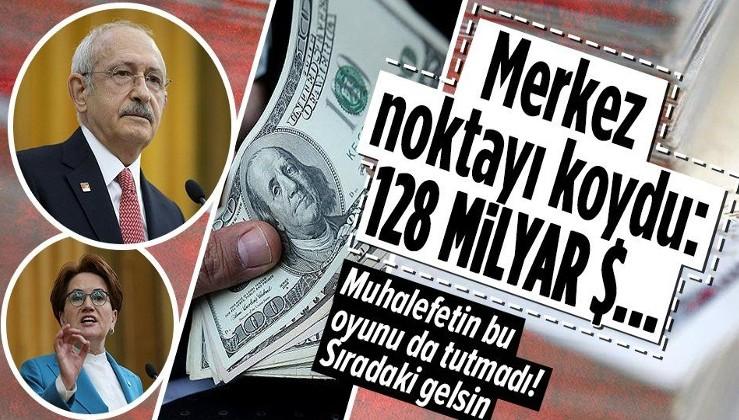 """SON DAKİKA: Merkez Bankası Başkanı Şahap Kavcıoğlu'ndan """"128 milyar dolar"""" açıklaması"""