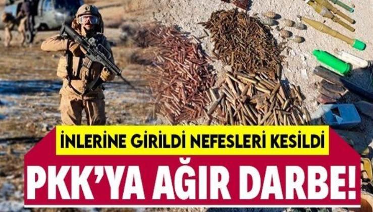 SON DAKİKA: Şırnak'ta PKK'ya ağır darbe: 5 terörist öldürüldü çok sayıda mühimmat ele geçirildi