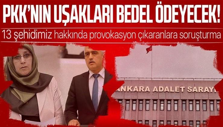 Son dakika: Terör örgütü PKK'nın kalleşçe şehit ettiği 13 Türk vatandaşı hakkında yalan ve provokatif paylaşım yapanlara soruşturma