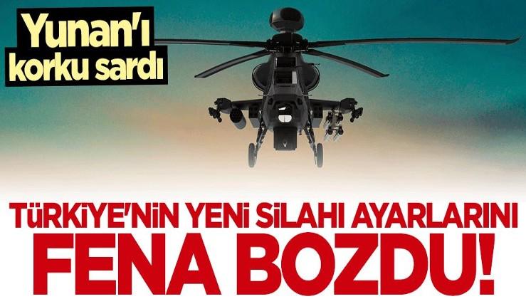 """Yunanistan'ı fena korku sardı! """"Yeni Türk tehdidi"""" başlığıyla duyurdular"""