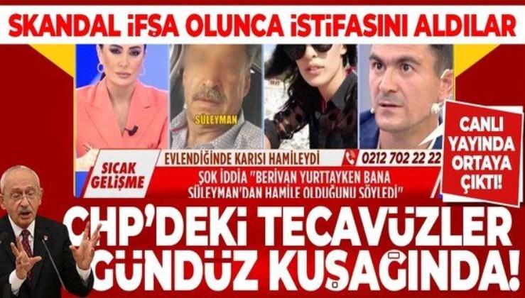CHP'deki tecavüzler gündüz kuşağı programında!
