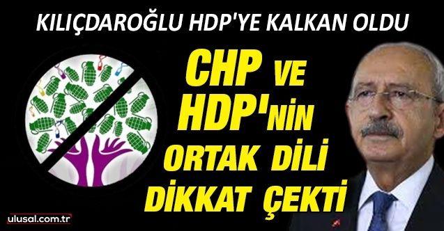 Kılıçdaroğlu HDP'ye kalkan oldu: CHP ve HDP'nin ortak dili dikkat çekti