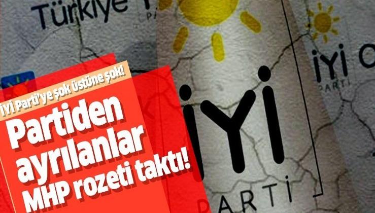İYİ Parti'ye darbe üzerine darbe! Partiden ayrılanlar MHP rozeti taktı