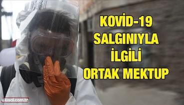 Kovid-19 salgınıyla ilgili ortak mektup