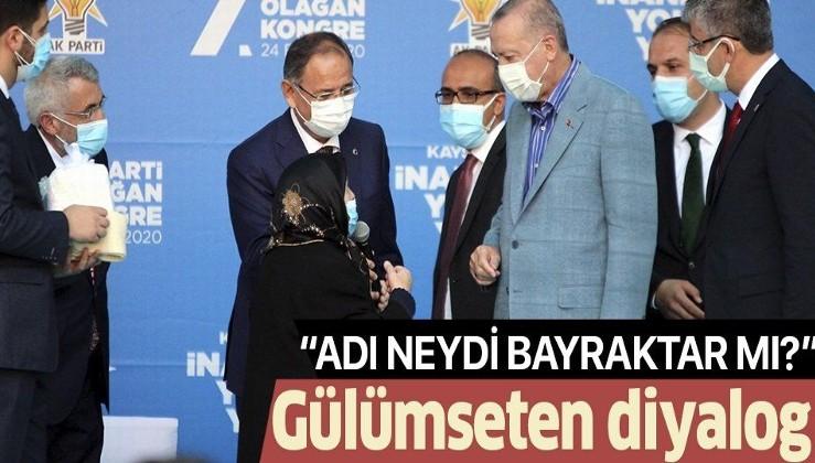 """Erdoğan ile Safiye teyzenin gülümseten konuşması: """"Senin damadının adı Bayraktar mıydı?"""""""