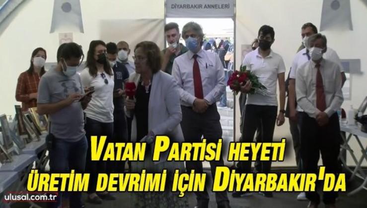 Vatan Partisi heyeti Diyarbakır'da: Köyleri ve Diyarbakır Anneleri'ni ziyaret ettiler