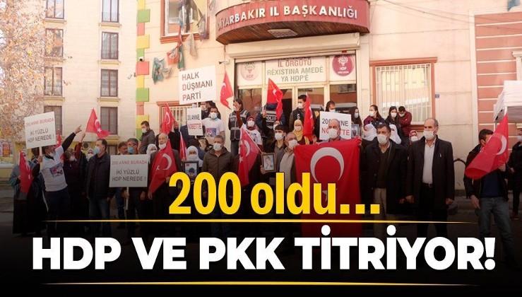 'Diyarbakır Anneleri'nin HDP önündeki evlat nöbetinde aile sayısı 200 oldu