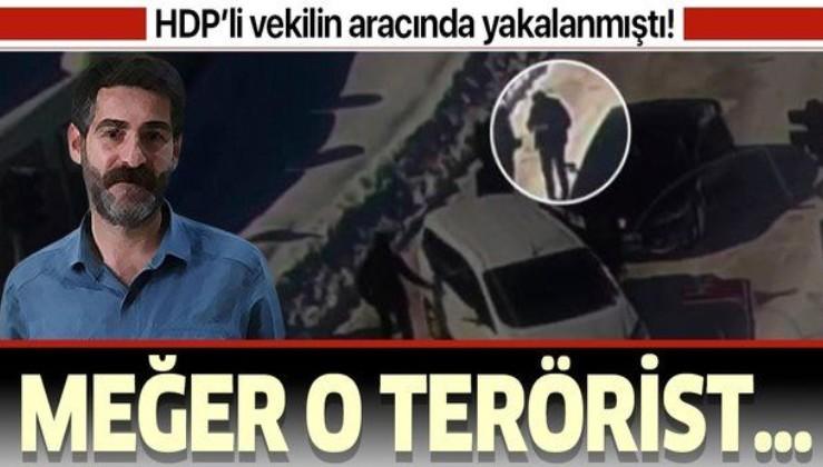 HDP'li vekil Murat Sarısaç'ın aracında yakalanan terörist o olayın zanlısı çıktı.