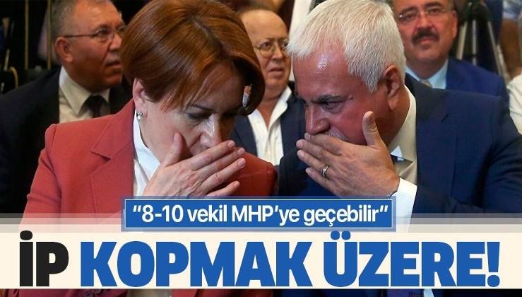 İYİ Parti'de kaos sürüyor! 8-10 vekil MHP'ye geçebilir