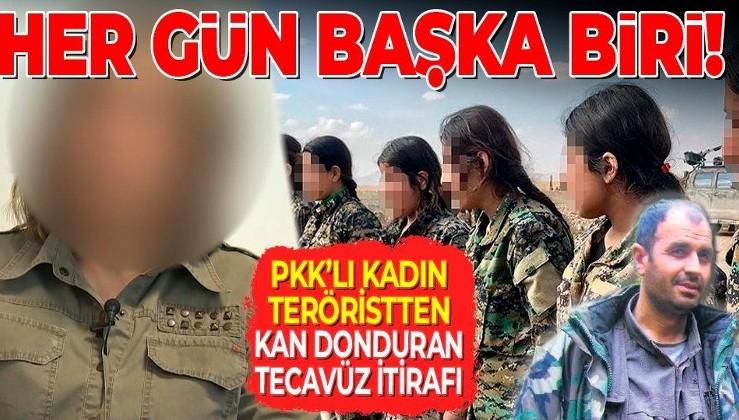 SON DAKİKA: Terör örgütü PKK'dan kaçan kadın teröristten kan donduran itiraflar: Tecavüz edip ölümle tehdit ettiler
