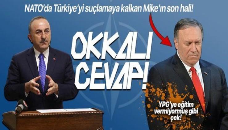 Türkiye'yi suçlayan ABD Dışişleri Bakanı Mike Pompeo'ya Mevlüt Çavuşoğlu'ndan sert yanıt