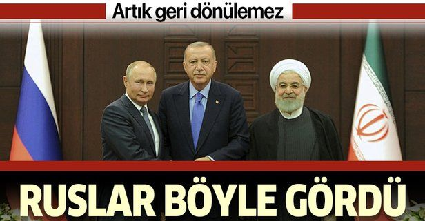 Rus basını Ankara'daki kritik zirveyi böyle gördü: Artık geri dönülemez.