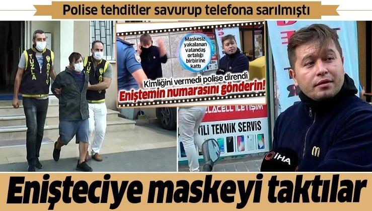 Son dakika: Tuzla'da polisleri tehdit eden sahıs adliyeye sevk edilirken yine tehdit etti: Görüşeceğiz