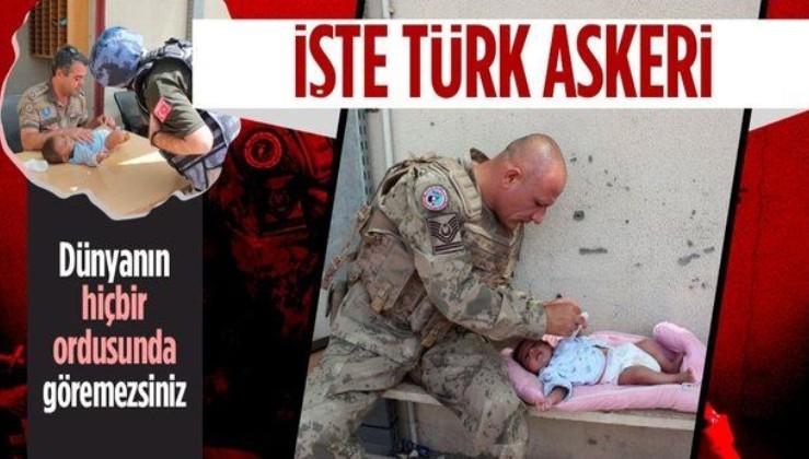Mehmetçik'ten Kabil'de çocuklara yardım eli