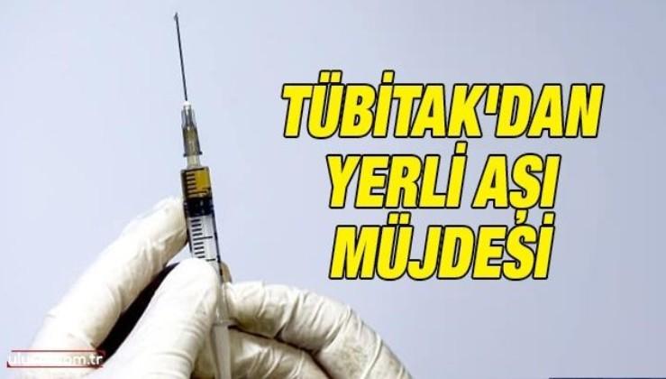TÜBİTAK'dan yerli aşı müjdesi