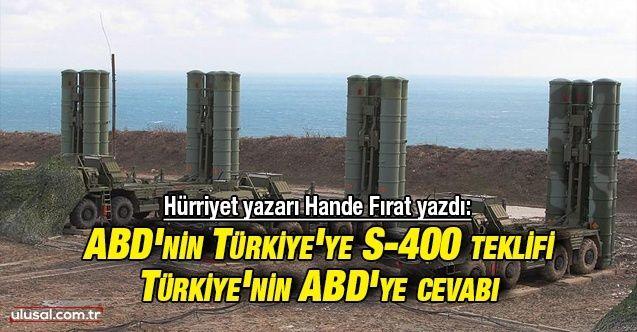 Türkiye ABD'nin S-400 taahhüdünü reddetti