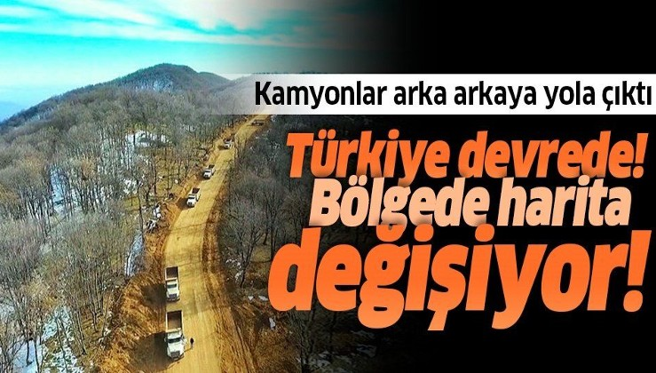 Türkiye de devrede! Bölgede harita yeniden şekilleniyor
